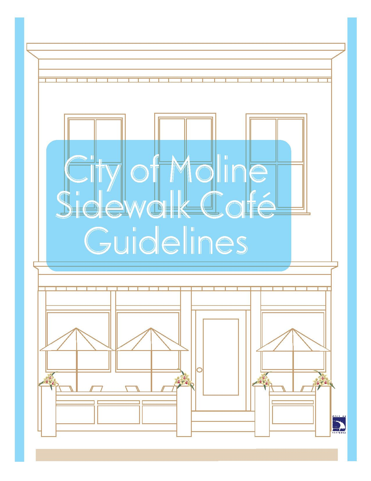 City of Moline Sidewalk Cafe Guidelines