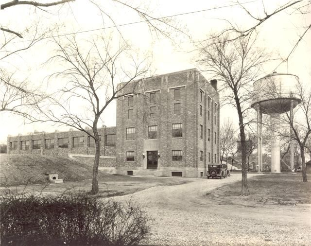 Moline Water Plant - 1933