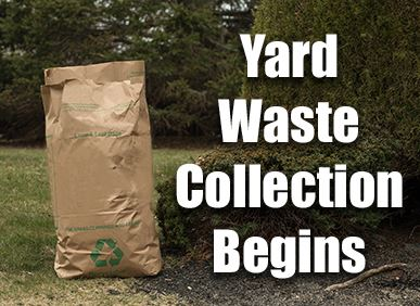 Yard Waste Collection Begins - Yard Waste Bag