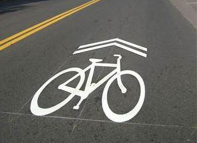 Shared Bicycle Lane