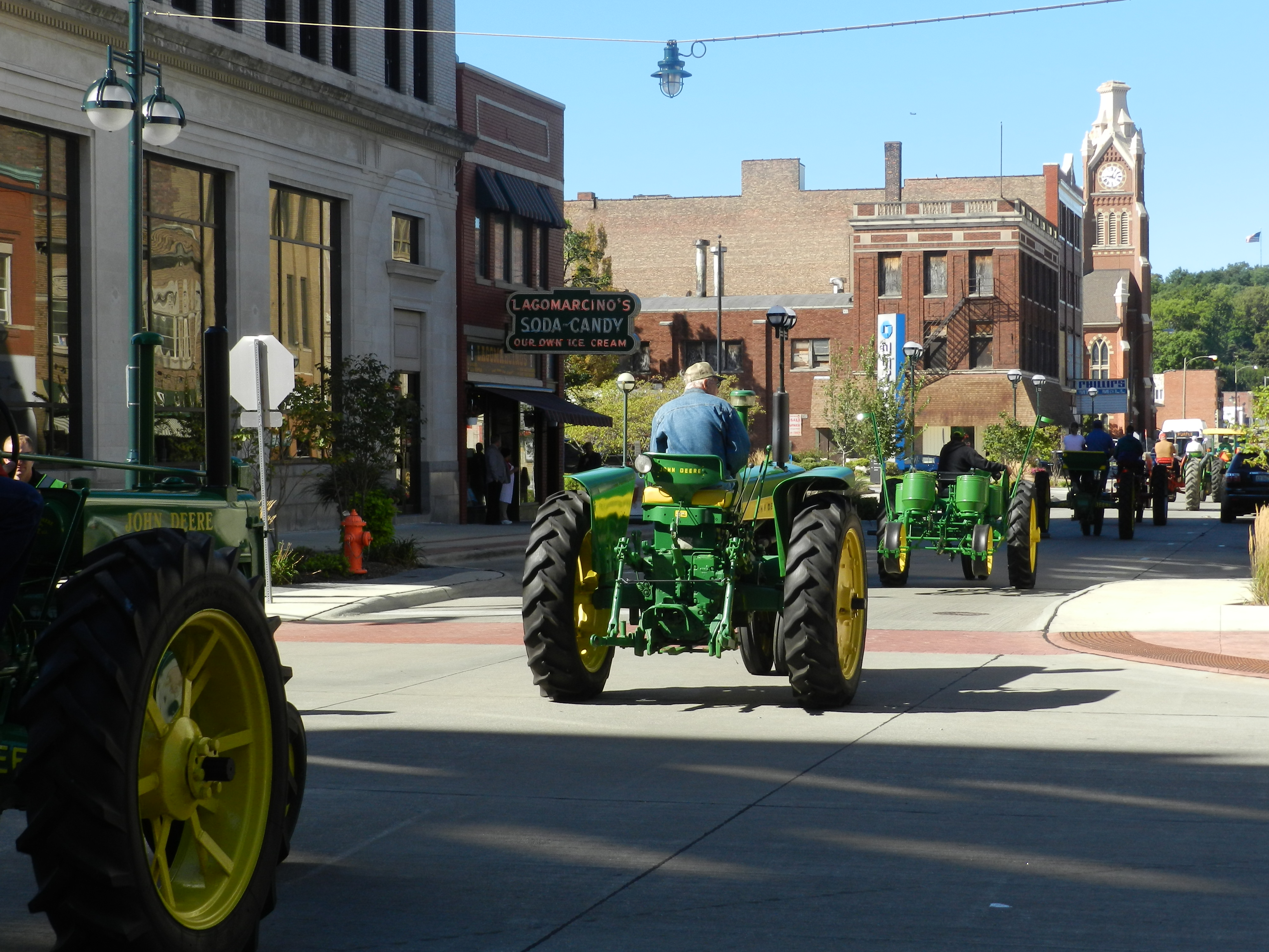 John Deere Tractor Parade 5th Ave.