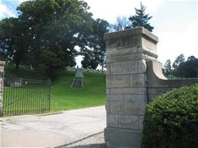 Riverside Cemetery Main Entrance