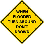 Turn Around Don't Drown logo