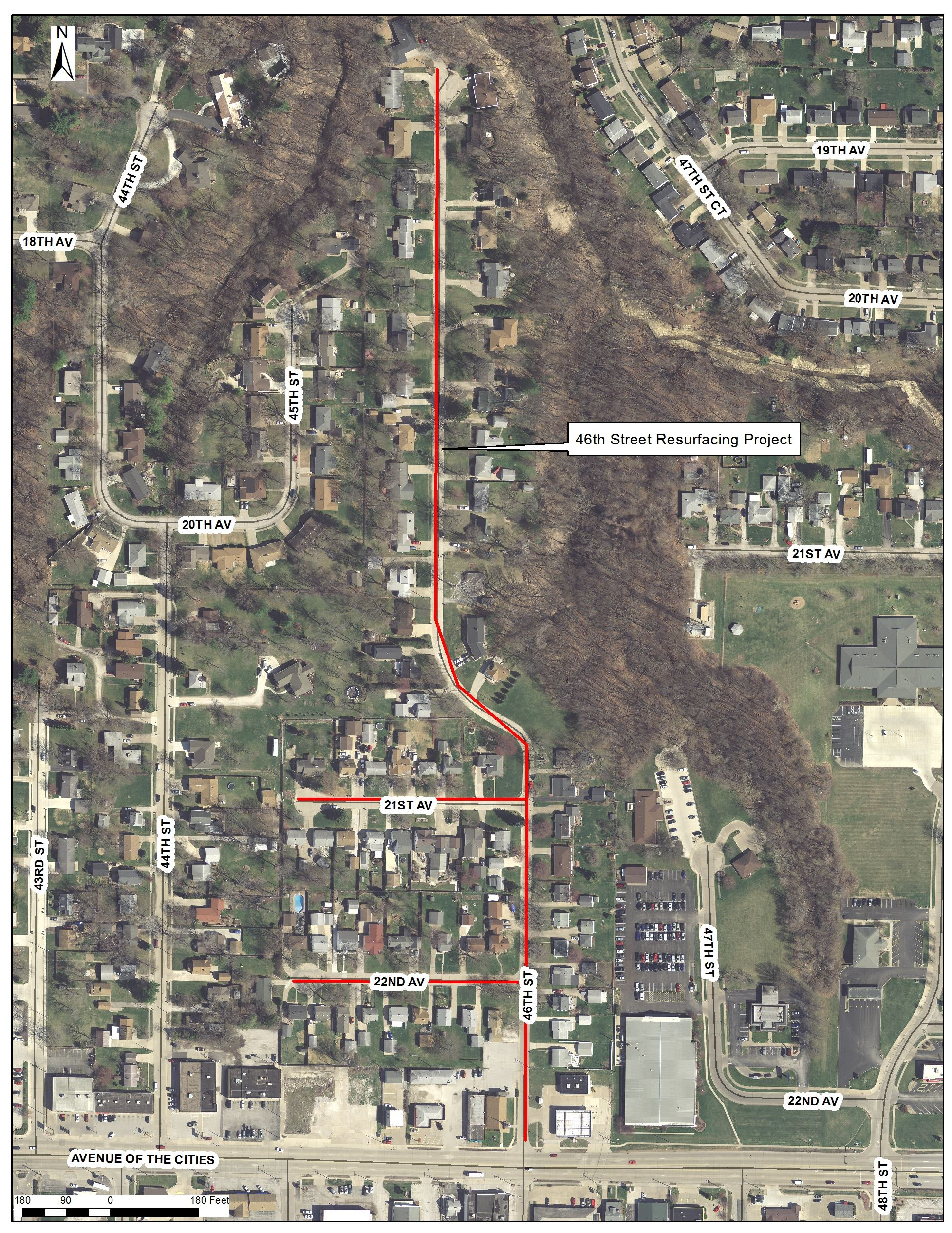 46th Street Resurfacing Project