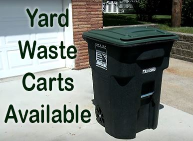 Yard Waste Carts Available