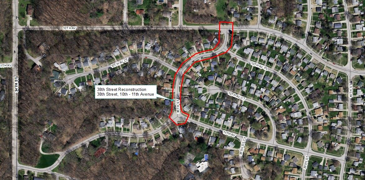 38th Street Reconstruction Project