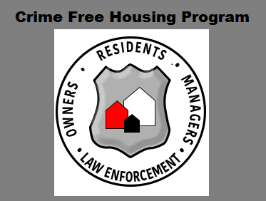 Crime Free Housing Program