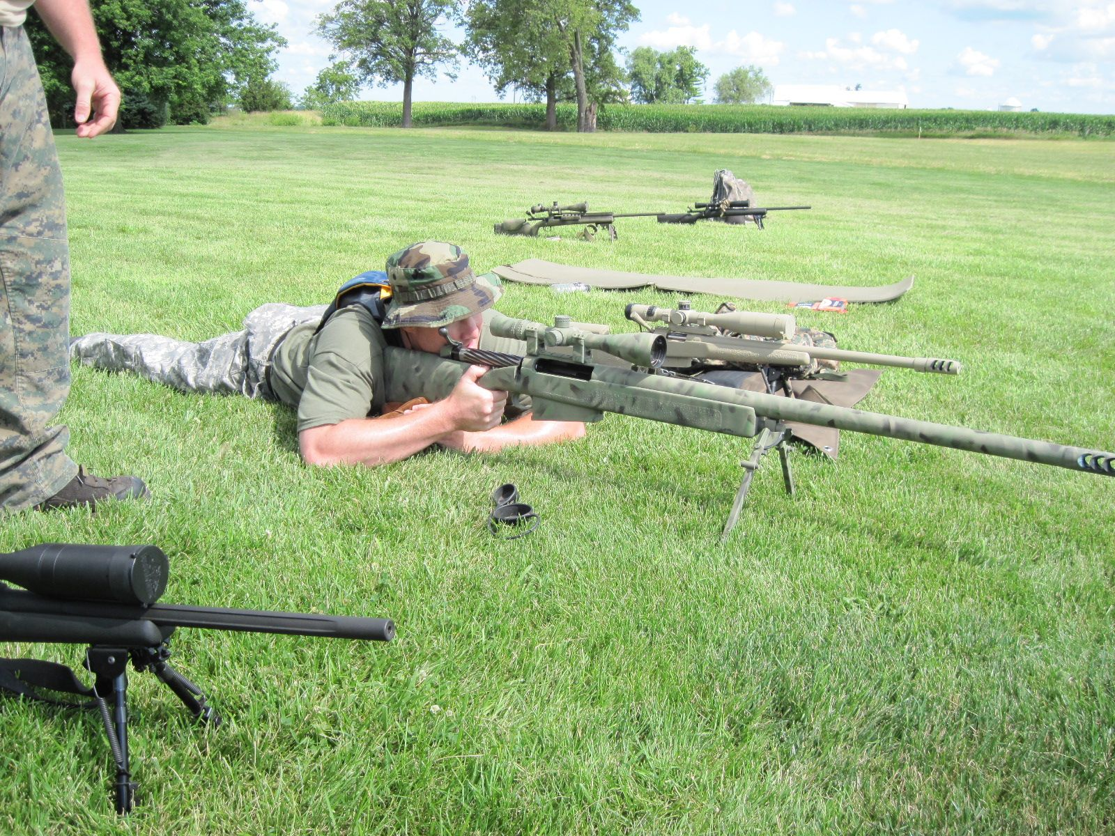 CCU Johnson Sniper Training